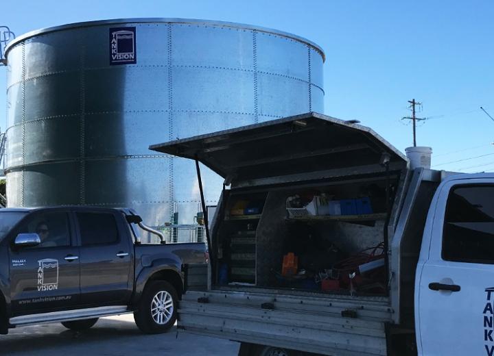 Tank Vision - Round Water Storage Tank Product 2