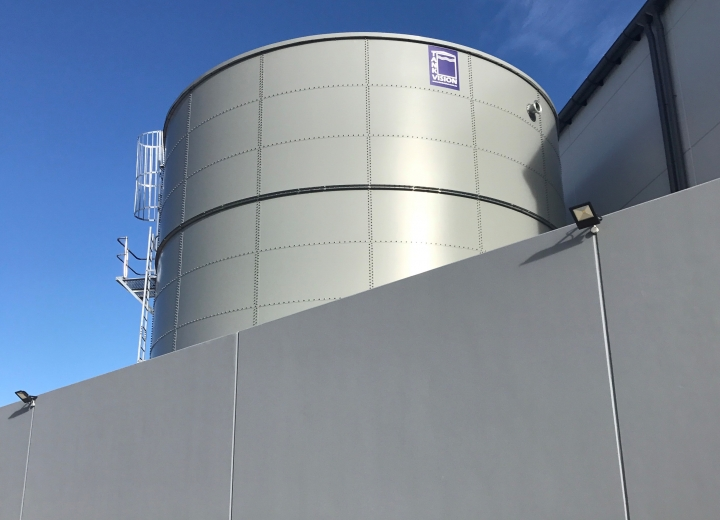Tank Vision - Round Water Storage Tank Product 1
